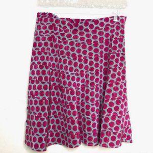 Marc Jacobs Cherry Scalloped Mini Skirt
